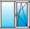 1 окно