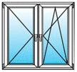 2 окно